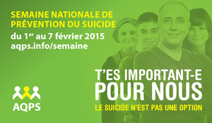 Semaine nationale de pr�vention du suicide