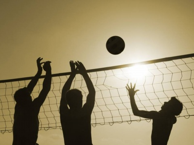 Tournoi de volleyball de plage